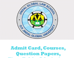 Jindal Global Law School Question Papers