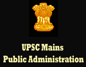 UPSC Mains Public Administration Question Papers