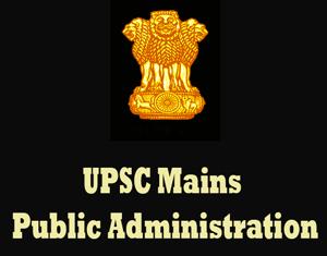 UPSC Mains Public Administration Question Papers