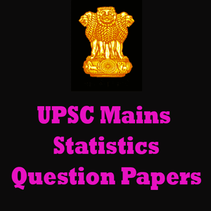 UPSC Mains Statistics Question Papers