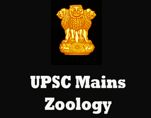 UPSC Mains Zoology Question Papers