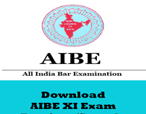 AIBE XI Question Papers