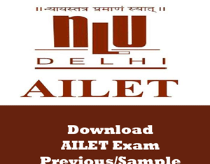 AILET Question Papers
