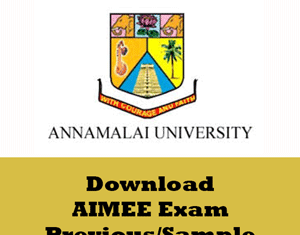 AIMEE Question Papers