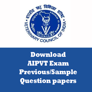 AIPVT Question Papers