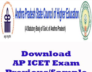 AP ICET Question Papers