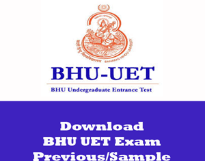BHU UET Question Papers
