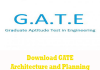 GATE Arcitecture and Planning Question Papers