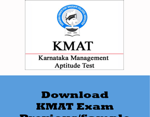 KMAT Question Papers