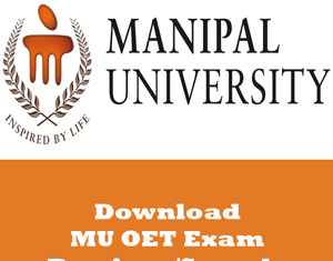 MU OET Question Papers