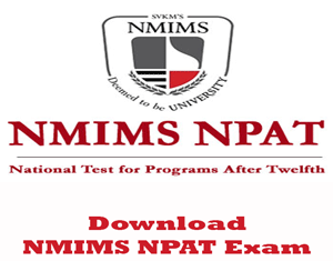 NMIMS NPAT Question Papers