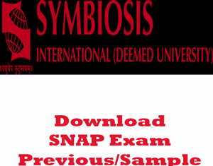 SNAP Question Papers