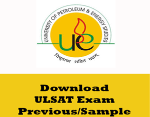 UL SAT Question Papers