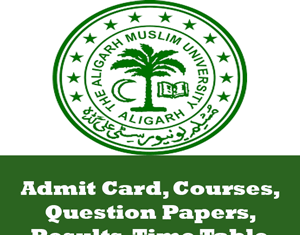 Aligarh Muslim University Time Table