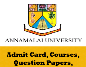 Annamalai University Time Table