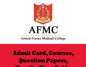 Armed Force Medical College Time Table