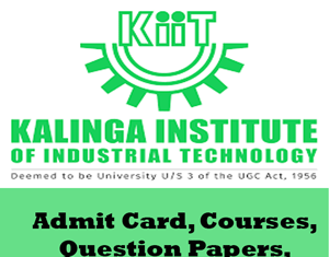 Kalinga Institute of Industrial Technology Time Table