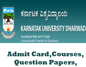 Karnataka University Time Table